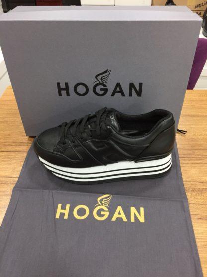 Hogan Ayakkabi yuksek topuk siyah