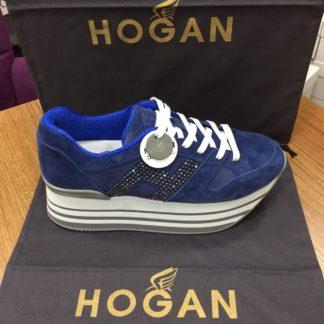 Hogan Ayakkabi yuksek topuk siyah lacivert