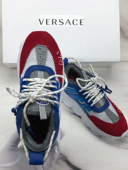 versace spor ayakkabi hakiki deri