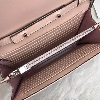 ysl saint laurent canta quilted omuz cantasi silver pudra pembe 23x15