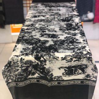 christian dior sal ipek siyah 70x170