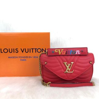 louis vuitton canta New Wave kirmizi 25x15cm