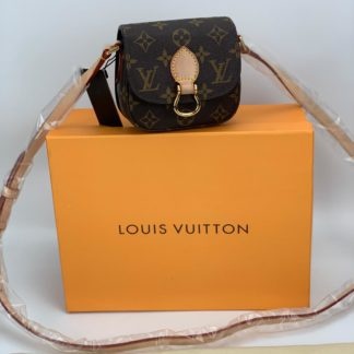 louis vuitton canta saint cloud monogram mini boy 13x13cm