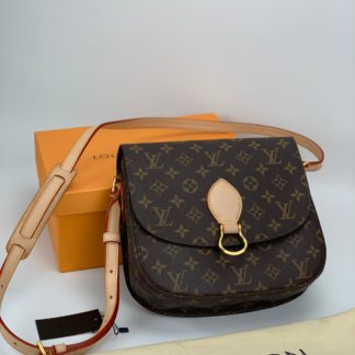 louis vuitton canta saint cloud monogram mini boy 25x23cm