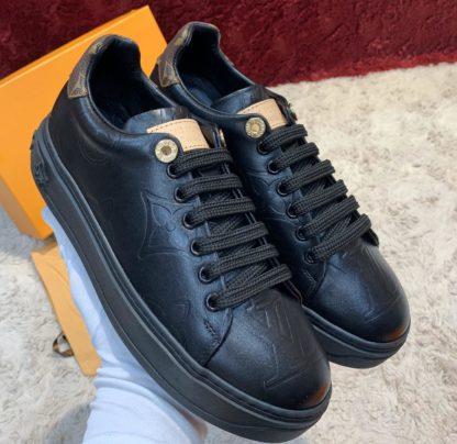 louis vuitton ayakkabi sneaker siyah