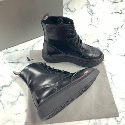 alexander mcqueen ayakkabi bot siyah