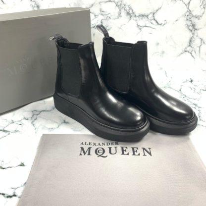 alexander mcqueen ayakkabi bot siyah vip