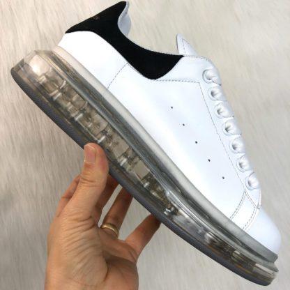 alexander mcqueen ayakkabi clear sole siyah beyaz