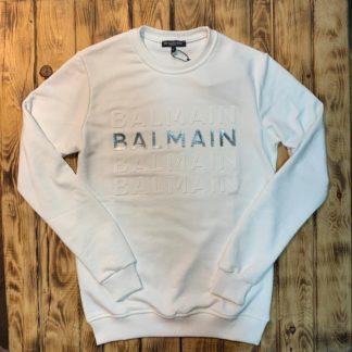 balmain sweatshirt beyaz