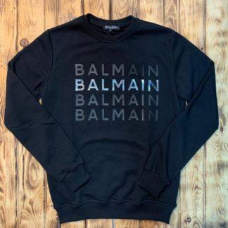 balmain sweatshirt lacivert