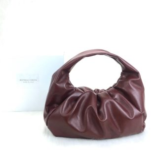 bottega vanetta canta shoulder pouch bordo