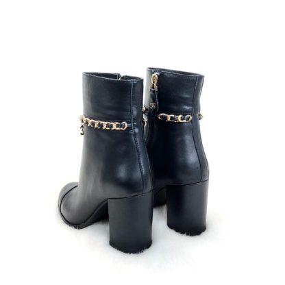 chanel ayakkabi ankle bot siyah standart