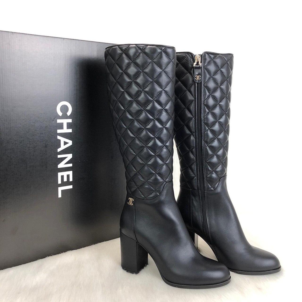 Canta Nisantasi Chanel Ayakkabi Deri Cizme Ithal