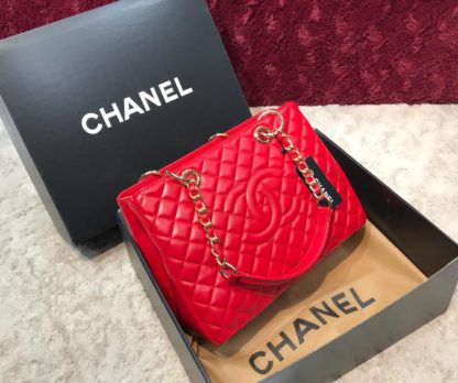 chanel canta shopping  suni deri 35x25