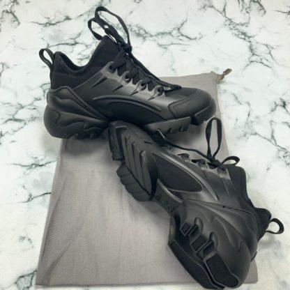 christian dior ayakkabi d connect sneaker siyah