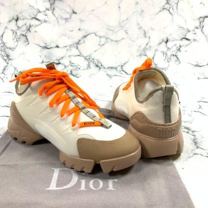christian dior ayakkabi d connect sneaker turuncu