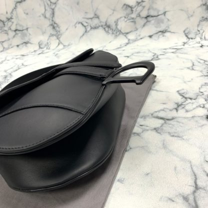 christian dior canta saddle ultra matte siyah 26x20