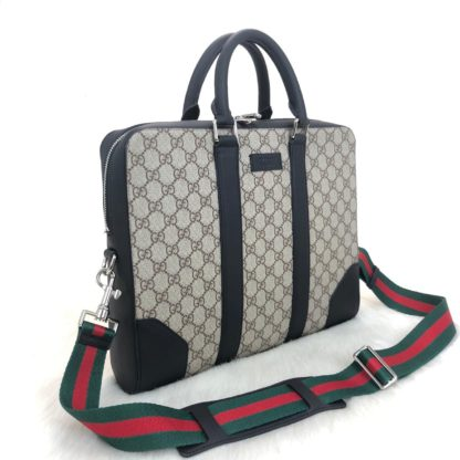 gucci canta supreme briefcase laptop