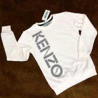 kenzo sweatshirt logo beyaz