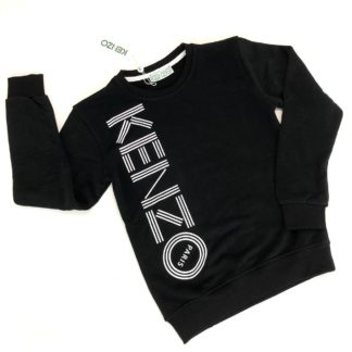 kenzo sweatshirt logo siyah