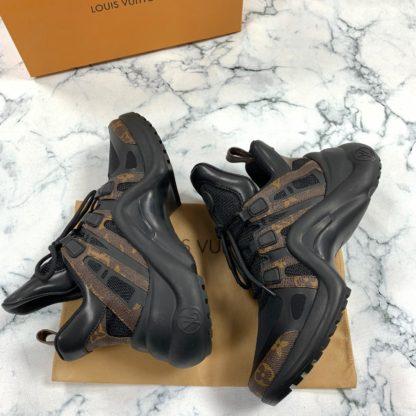 louis vuitton ayakkabi archlight sneaker siyah