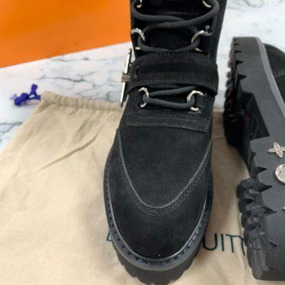 louis vuitton ayakkabi creeper ankle bot suet