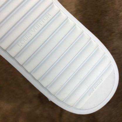 louis vuitton ayakkabi timeout sneaker beyaz deri taban 4cm