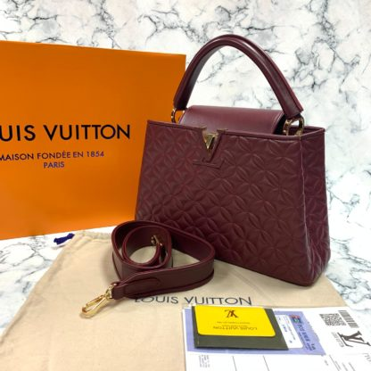 louis vuitton canta capucines PM bordo 32x21x11 ithal