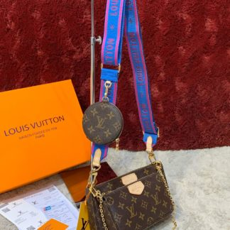 louis vuitton canta multi pochette mavi askili