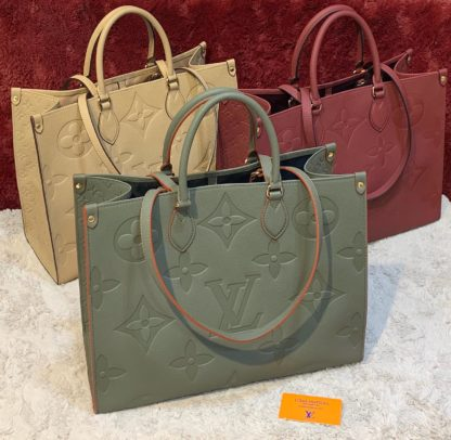 louis vuitton canta on the go camel 41x34 ithal