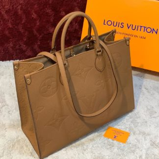 louis vuitton canta on the go taba 41x34 ithal