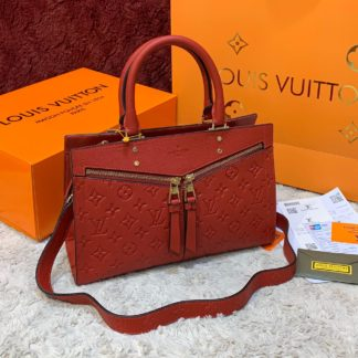 louis vuitton canta sully pm ithal kirmizi 30x22 cm