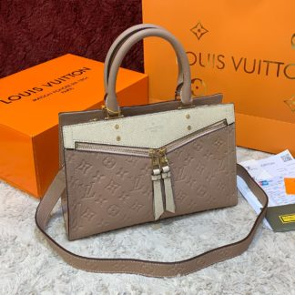 louis vuitton canta sully pm ithal pudra pembe 30x22 cm