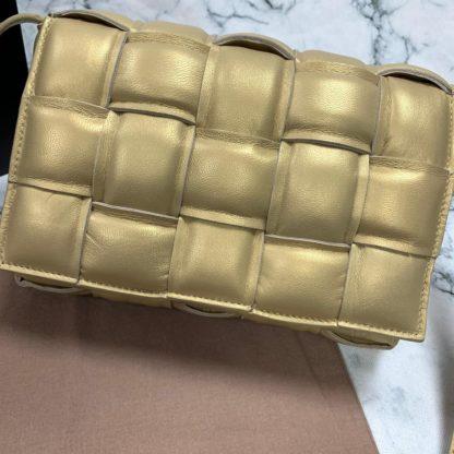 bottega vanetta canta Padded Cassette gold 26x18cm