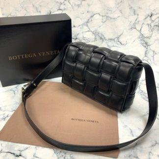 bottega vanetta canta Padded Cassette siyah 26x18cm