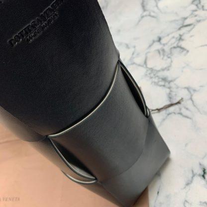 bottega vanetta canta veneta tote siyah deri 41x31x11