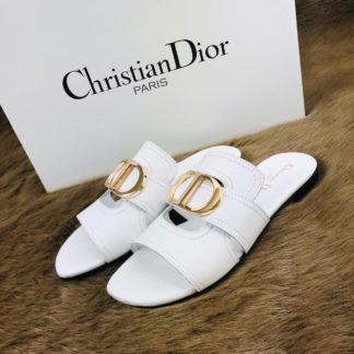 christian dior terlik beyaz ic ve dis deri