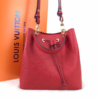 louis vuitton canta neonoe monogram bordo 26x26