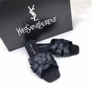 yves saint laurent ysl terlik Tribute Flat siyah