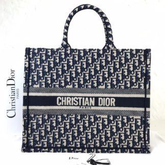 Christian Dior canta Book Tote Oblique full dokuma 41x32 cm