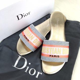 Christian Dior terlik hakiki deri gold