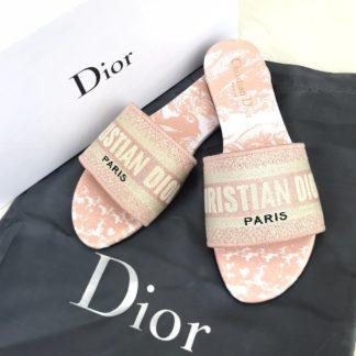 Christian Dior terlik hakiki deri pembe