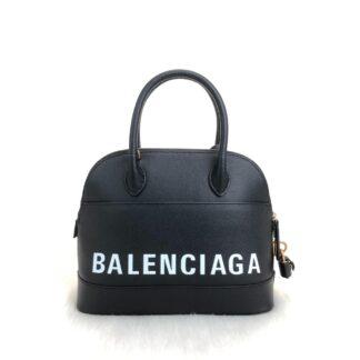 balenciaga canta handle ville top s siyah 26x22cm