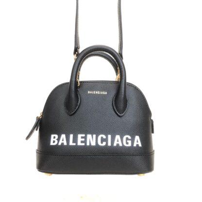 balenciaga canta handle ville top xxs siyah 19x15cm