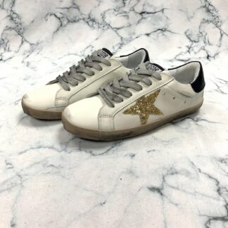 golden goose ayakkabi sneaker superstar beyaz gold