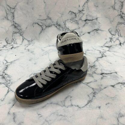 golden goose ayakkabi sneaker superstar siyah rugan