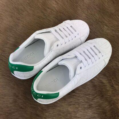 gucci ayakkabi rhombus sneaker beyaz