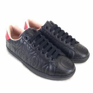 gucci ayakkabi rhombus sneaker siyah
