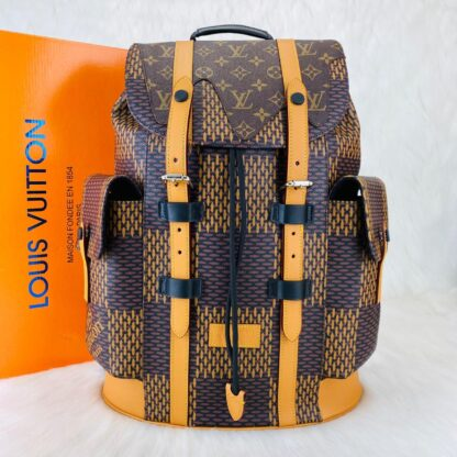 louis vuitton canta christopher backpack sirt