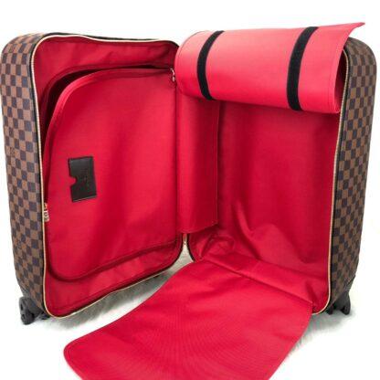 louis vuitton canta damier zephyr kabin boy cek cek valiz 55cm